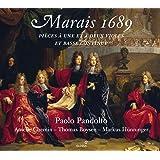 Marais: 1689 Pieces De Violes