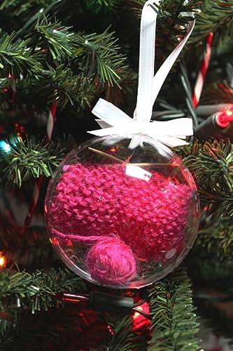 Knitter's Christmas Ornament, Handmade Christmas Ornament for Knitters, Christmas  Ornament, Yule Ornament, - Amazon.com: Knitter's Christmas Ornament, Handmade Christmas