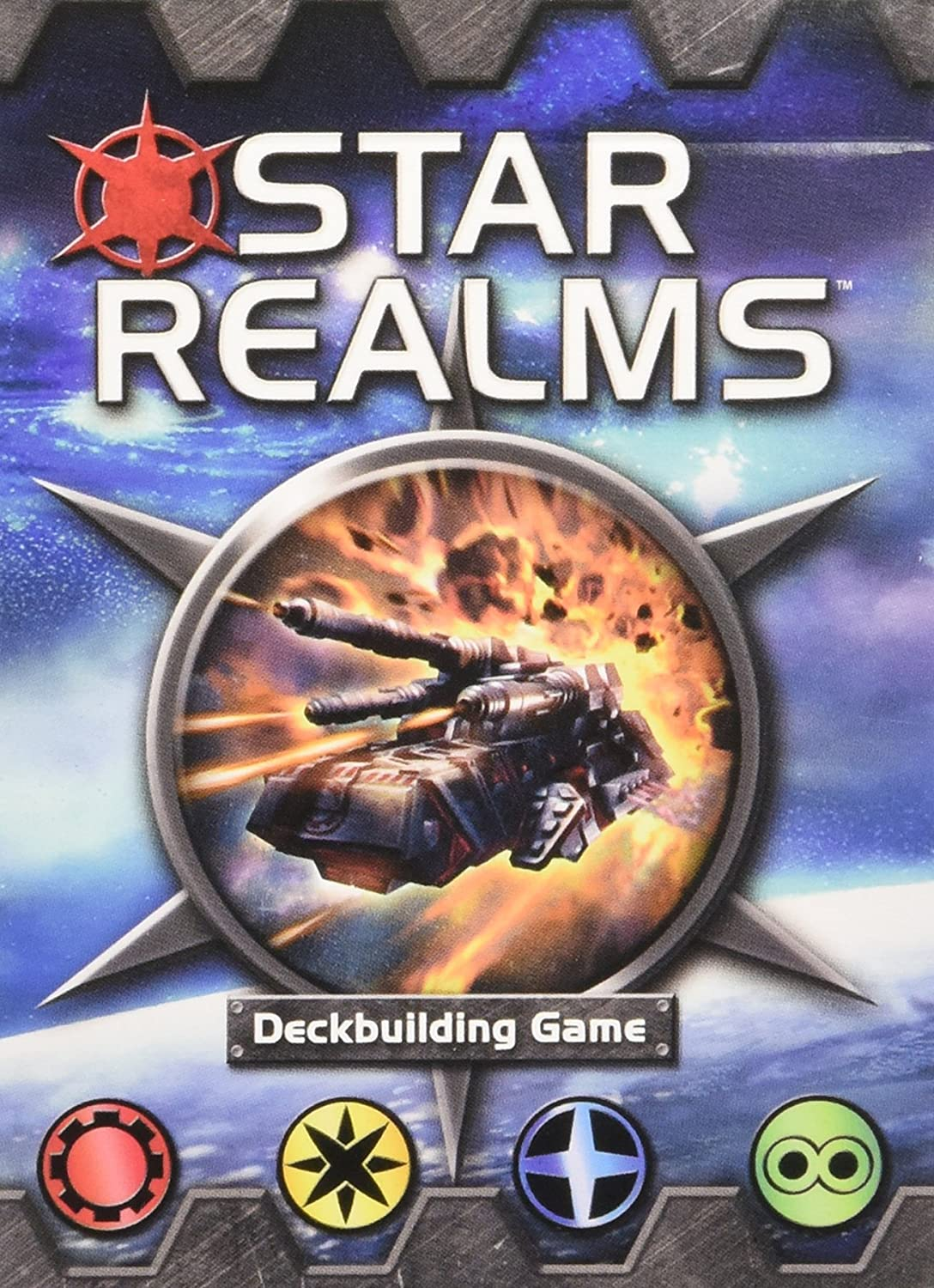 White Wizard Games Star Realms Deckbuilding Game Flat River Group WW500