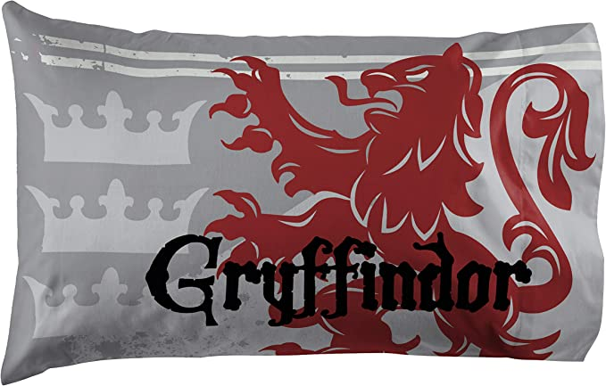 Double-Sided Kids Super Soft Bedding Features Hogwarts House Ravenclaw Official Harry Potter Product Jay Franco Harry Potter Raven Stars 1 Pack Pillowcase