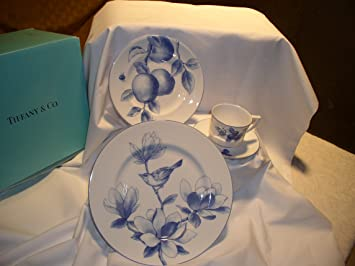 China NATURE \u0027MAGNOLIA\u0027 4pc PLACESETTING - Stunning! Discontinued Pattern : nature dinnerware sets - pezcame.com