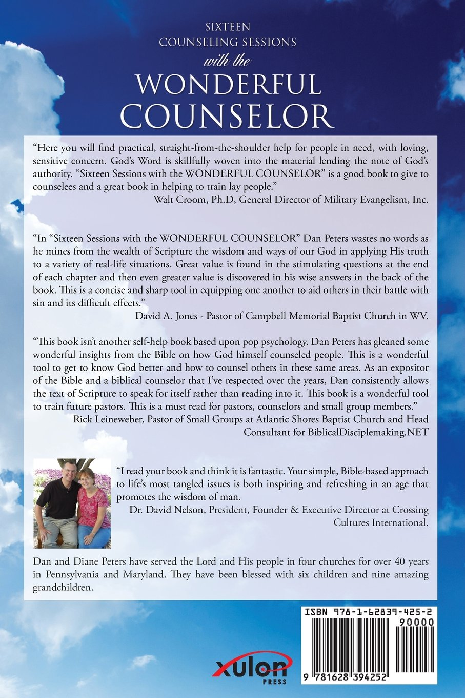 Sixteen Counseling Sessions with the WONDERFUL COUNSELOR