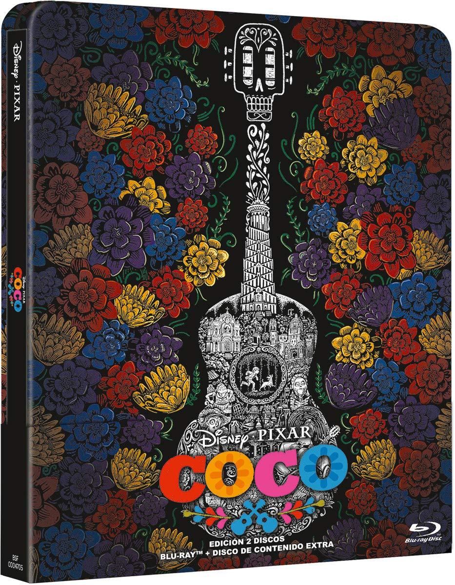 Steelbook Coco [Blu-ray]: Amazon.es: Lee Unkrich: Cine y Series TV
