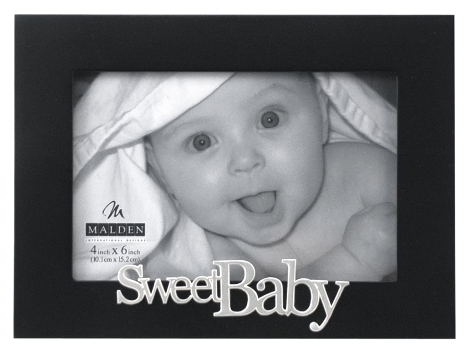 Sweet Baby Black Wood Picture Frame