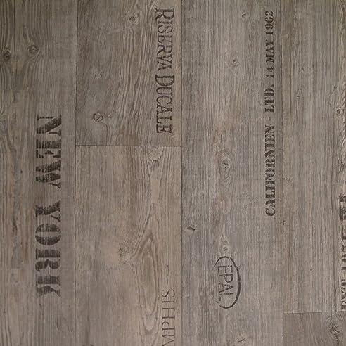 Pvc Bodenbelag Rustikal Grau Mit Aufdruck Breite 4 M (9,95 € P. M²