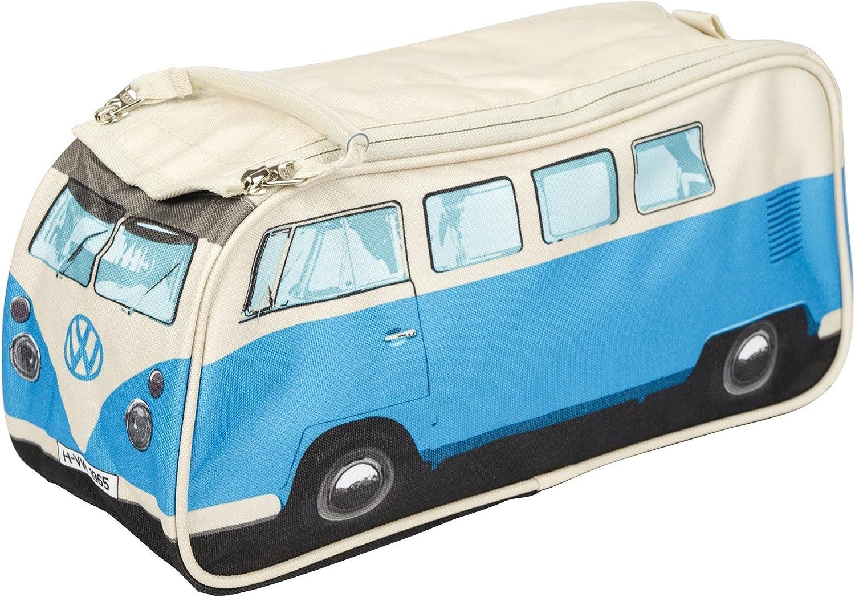 Neceser de aseo, furgoneta de camping VW azul