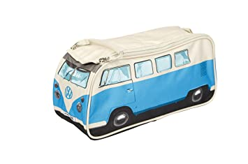 071c9c6afae5 The Monster Factory VW Volkswagen T1 Camper Van Toiletry Wash Bag - Blue -  Multiple Color