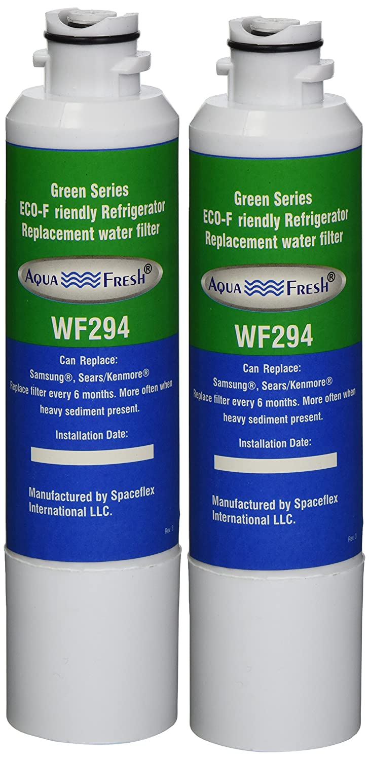 Aqua Fresh WF294 Replacement for Samsung DA29-00020B, HAF-CIN/EXP, 46-9101, WSS-2 Refrigerator Water Filter (2 Pack)