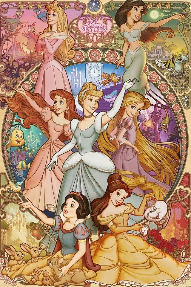 ディズニー ディズニー 美しく咲き誇る乙女 iPhone(640×960)壁紙画像