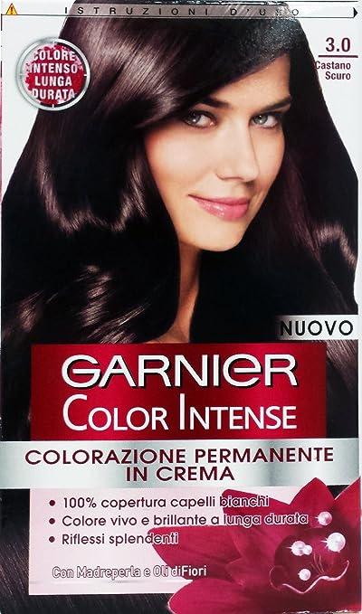 6 x Color Intense Champú Tinte Castaño Oscuro 3.0: Amazon.es ...