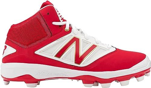 Blanco 5 Rojo Zapato 9 New Tpu V3 Béisbol 's Pm4040 Balance Men xqwg4