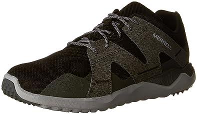 Merrell Men's 1SIX8 Mesh Fashion Sneaker, Black, ...