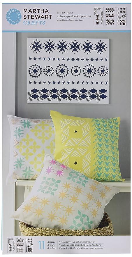 Amazon Martha Stewart Crafts Scrapbooking Stencils 33553 Tribal