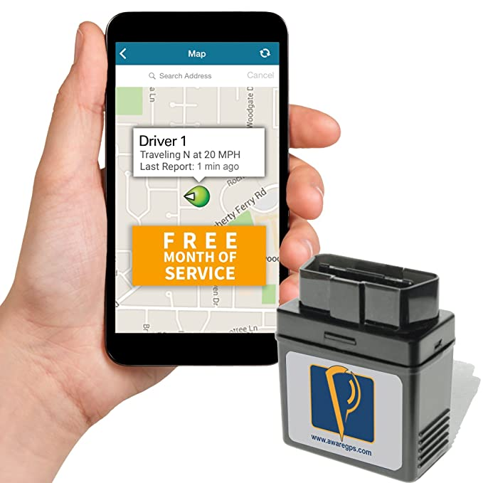 Vehicle Tracking Device >> Amazon Com Awaregps Obd 3g Gps Service With Free Month Of Service