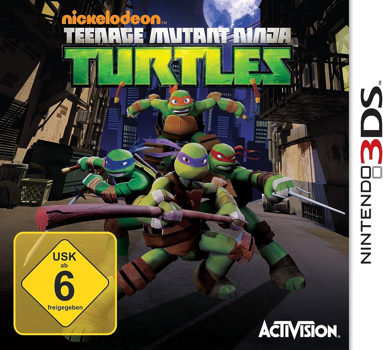 Amazon.com: Teenage Mutant Ninja Turtles. Nintendo 3Ds ...