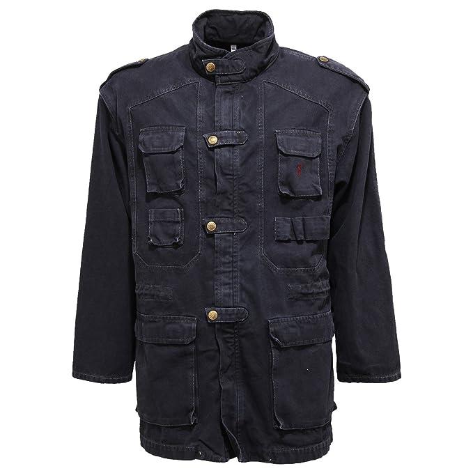 Jeckerson 6675V Giubbotto uomo Delave Blue Cotton Jacket Men ...