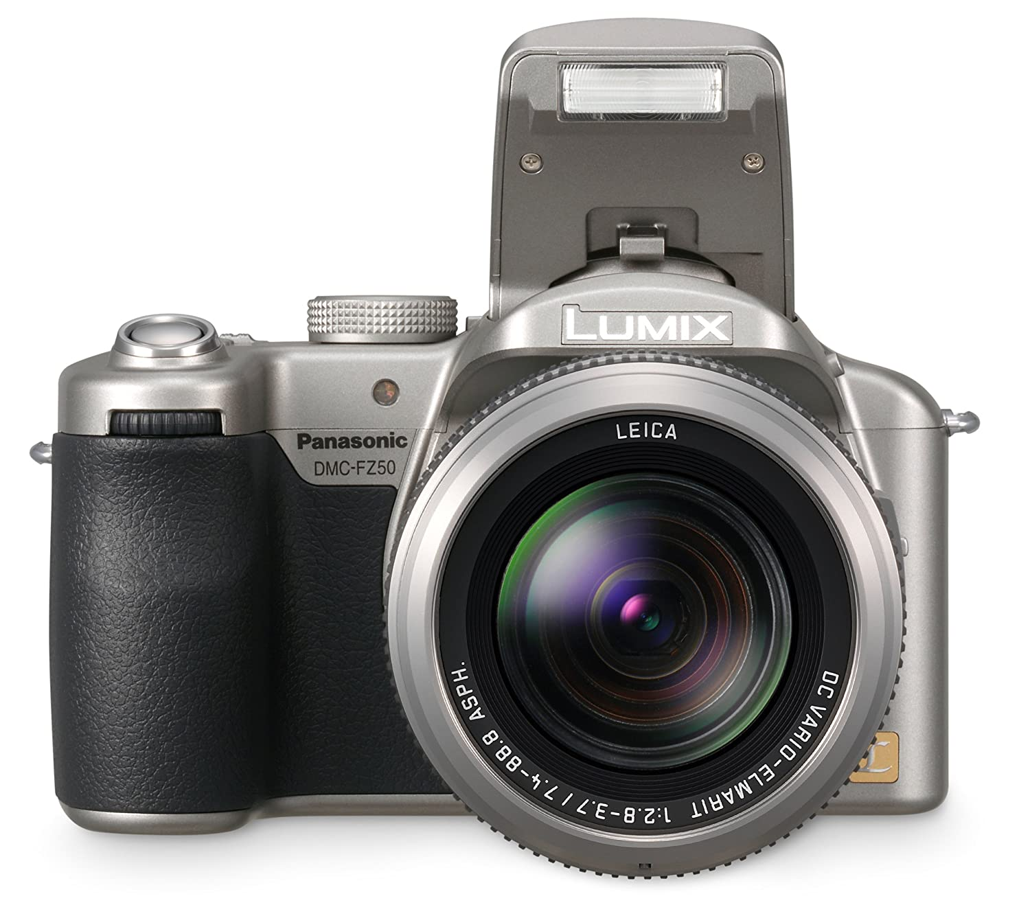 Amazon.com : Panasonic DMC-FZ50S 10.1MP Digital Camera with 12x Optical  Image Stabilized Zoom (Silver) : Point And Shoot Digital Cameras : Camera &  Photo