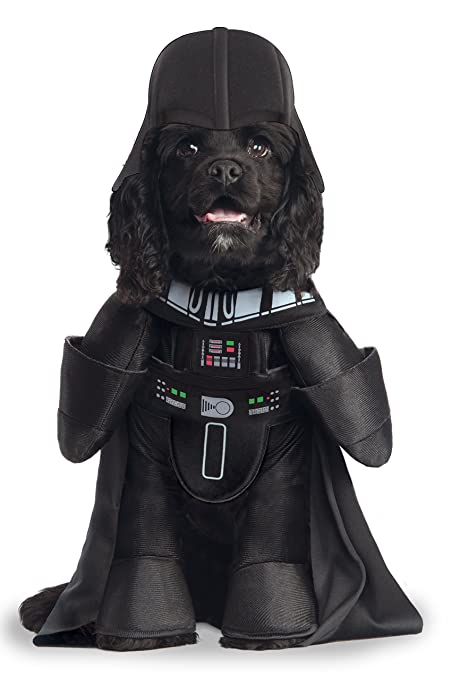 Star Wars Darth Vader Pet Costume Small  sc 1 st  Amazon.com & Rubies Costume Star Wars Darth Vader Pet Costume