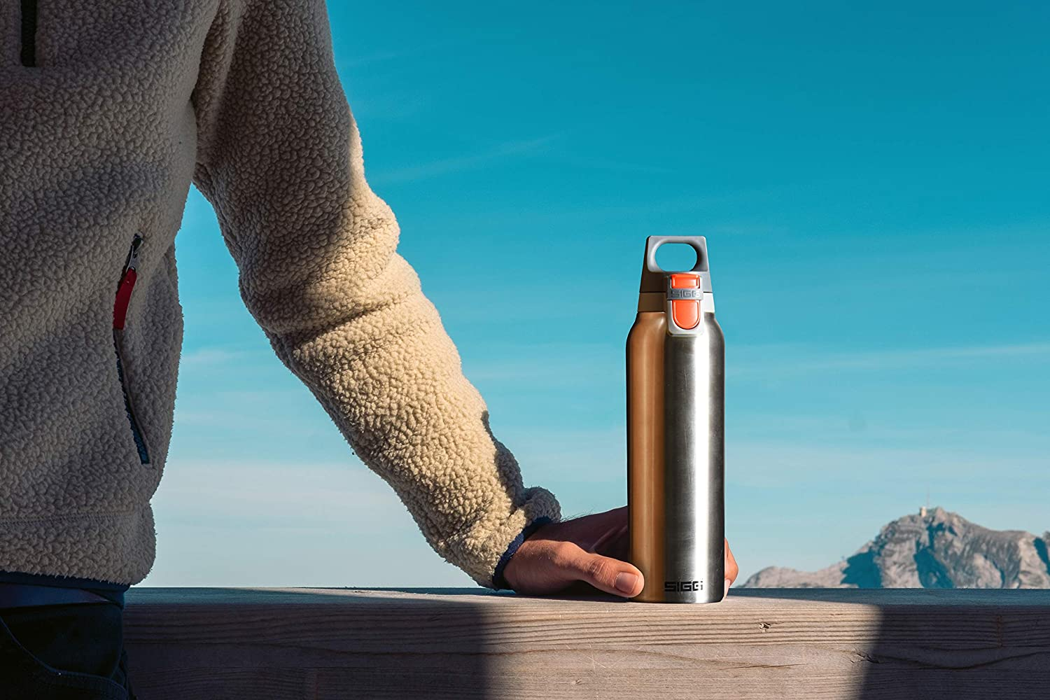 Thermos Isolante sottovuoto Sigg Hot And Cold Unisex-Adulto