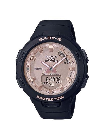 Casio Reloj Analógico-Digital para Mujer de Cuarzo con Correa en Resina  BSA-B100MF-1AER  Amazon.es  Relojes 7bd4a1c014de