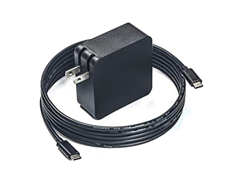 7 5FT Type C AC Charger for Dell Latitude 7390 13 2-in-1 Laptop Power  Supply Adapter Cord