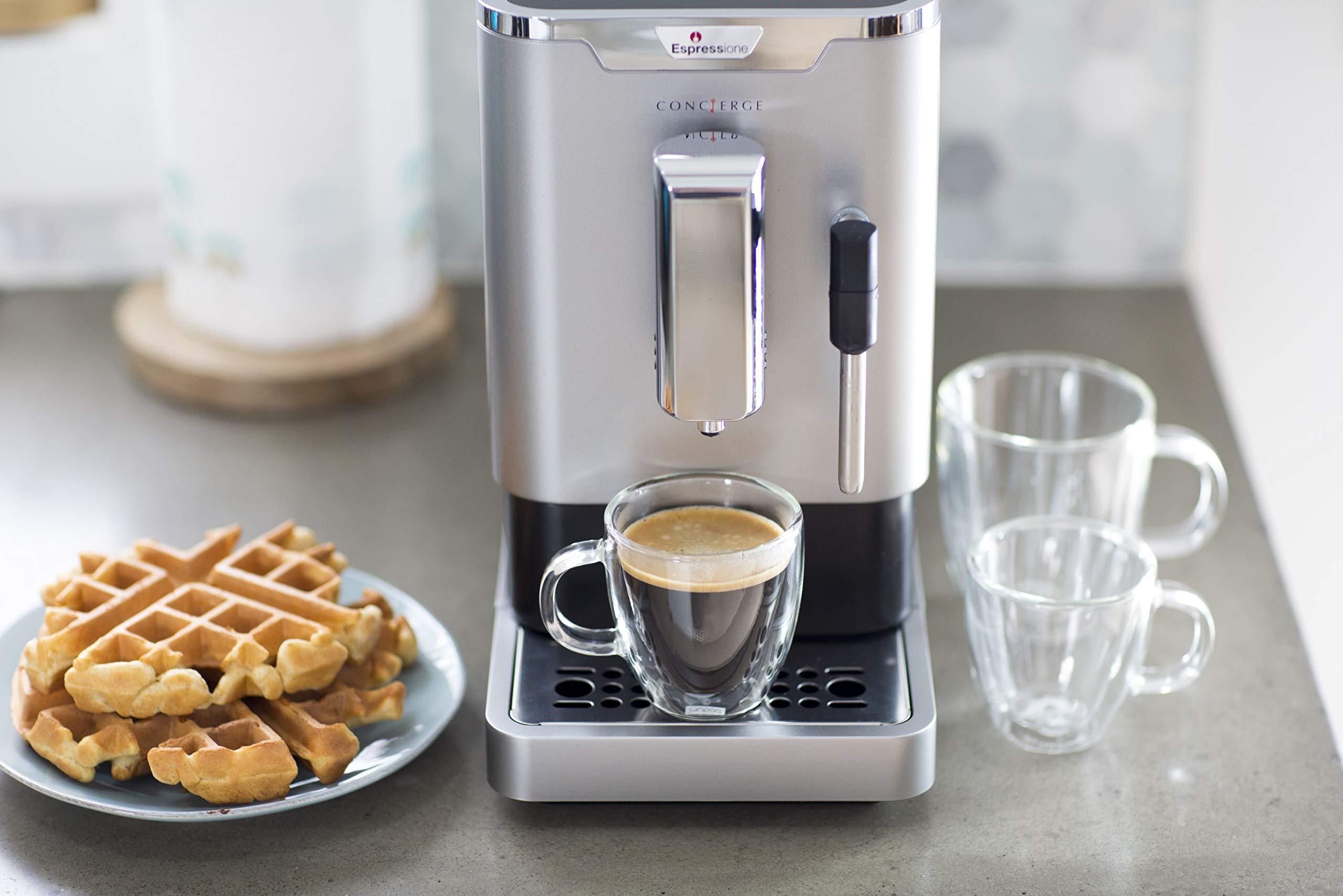 Espressione 8212S Fully Automatic Espresso Machine Silver by Espressione (Image #9)