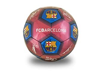 Barcelona FC - Balón de fútbol Unisex, tamaño 5, Color Burdeos, 5 ...