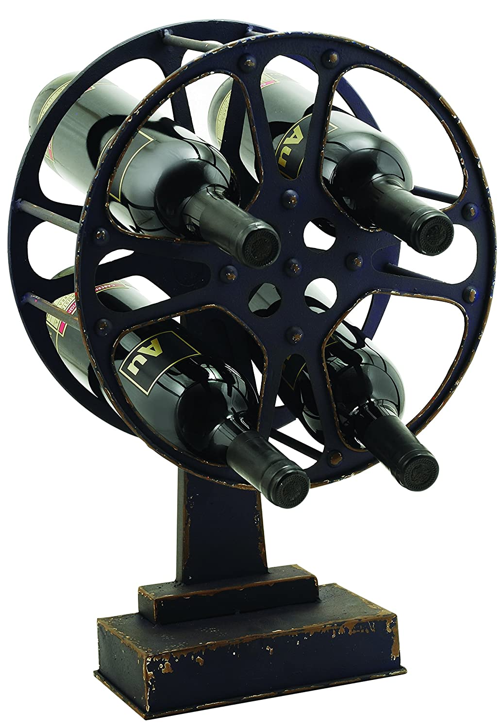Gears And Wheels Wine Rack by Foster and Rye True Fabrication 2755