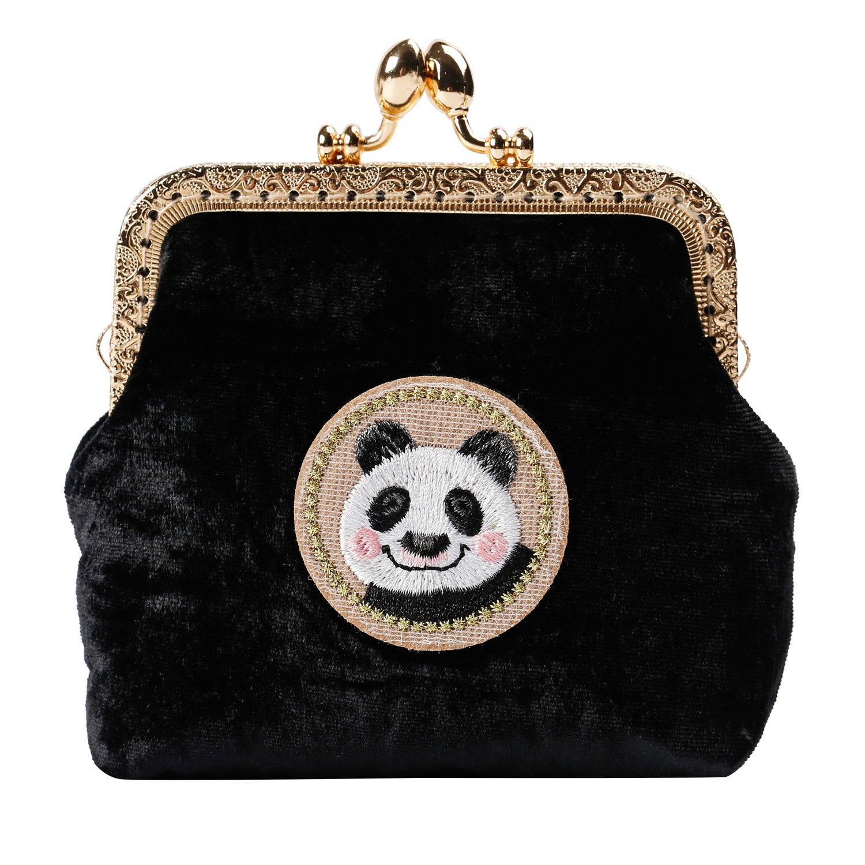 Kigurumi Womens Japanese Style Coin Silk Wallet Cosmetic Bag by Kigurumi (Image #1)