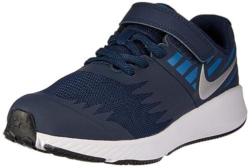 zapatillas niño nike azul