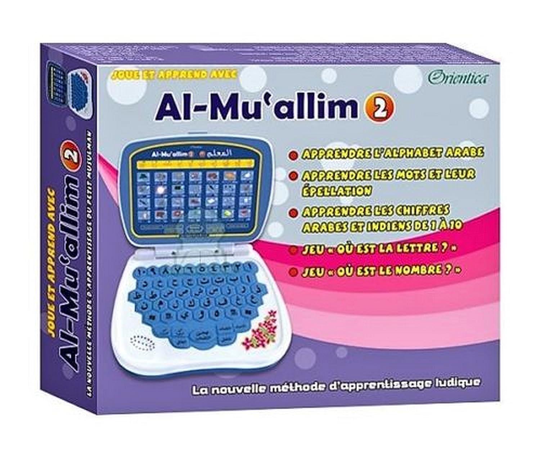 Arabe// Fran/çais Ordinateur Electronique AL-MUALLIM 2 Apprendre lArabe Enfants