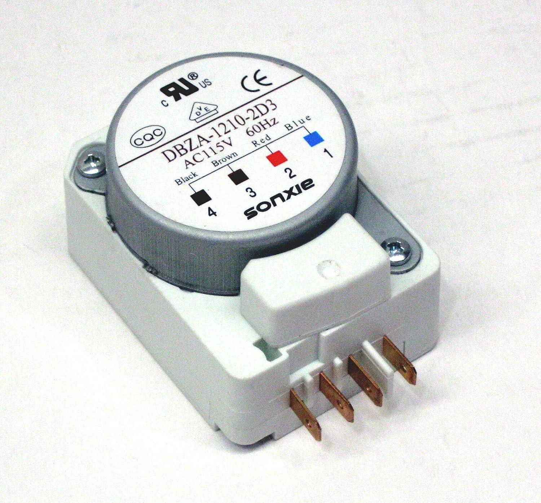 (NEW) DBZA-1210-2D3 Magic Chef Refrigerator Defrost Timer Control MCBR1020W DBYC1210BL + many models in description
