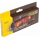 weiß H0 Eisenbahn Faller 180648  X Faller 2 LED-Lichtleisten