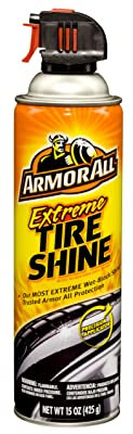 Armor All 77958 Extreme Tire Shine Aerosol - 15 oz.