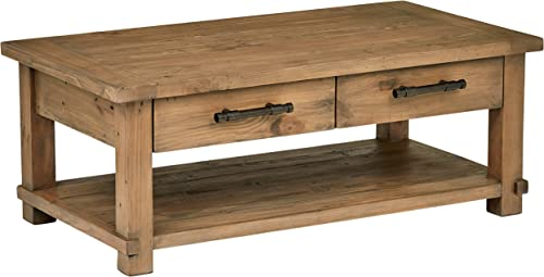 Amazon Brand Stone Beam Ferndale Rustic Coffee Table