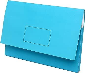 Marbig Slimpick A3 Document Wallet (Blue)