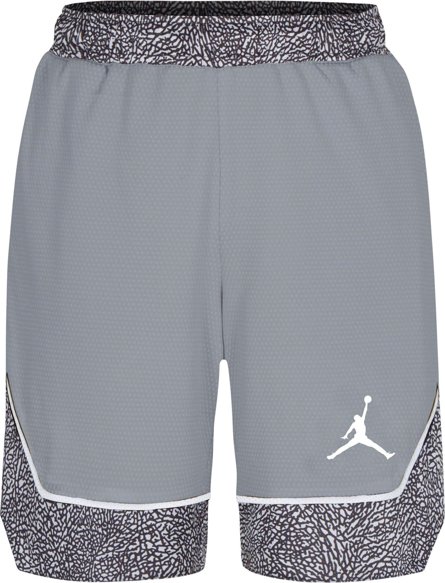 Jordan Boys Air Pro Peak Shorts (M, Wolf Grey)