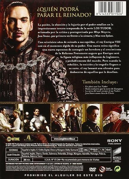 Los Tudor Temporada 3 (Dvd): Amazon.es: Jonathan Rhys Meyers, Henry Cavill, Anthony Brophy, James Frain, Sarah Bolger, Natalie Dormer, Ciaran Donnelly, ...