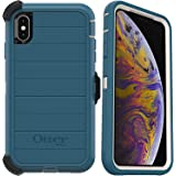 OtterBox Defender Series Rugged Case & Holster for iPhone Xs MAX - Non-Retail Packaging - Big Sur (with Microbial Defense)
