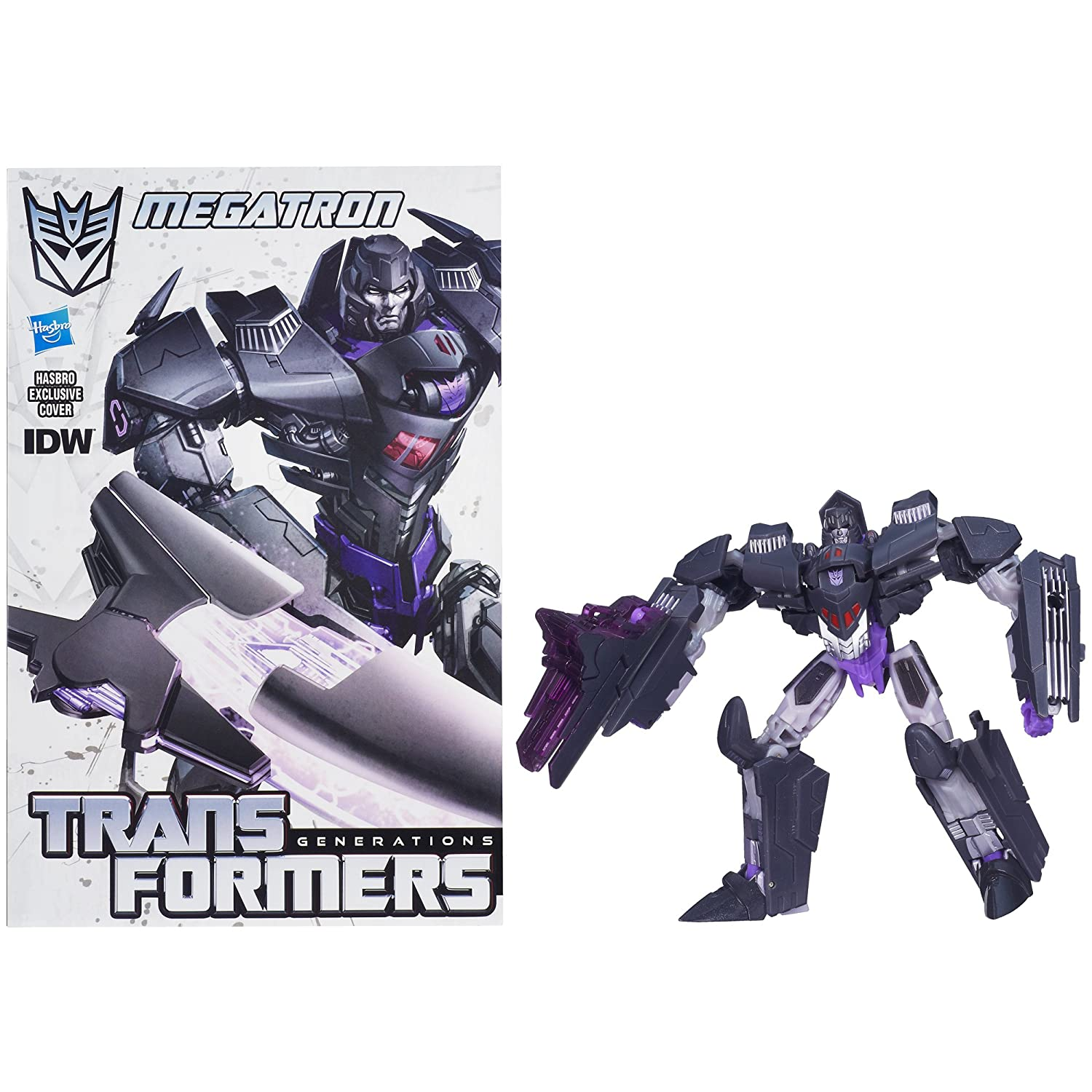 Transformers Generations 30th Anniversary Deluxe MEGATRON with Comic Book