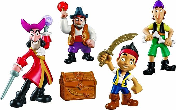 Mattel Jake y los Piratas - Pandilla de Piratas, playset X5182 ...