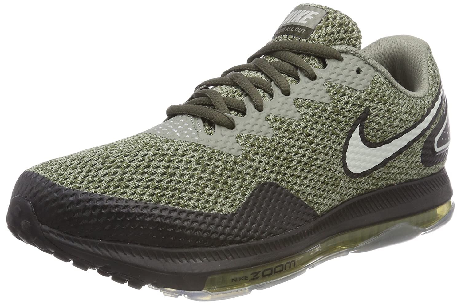Nike Zoom All out Low 2, Zapatillas de Gimnasia para Hombre 40.5 EU|Gris (Cargo Khaki/Lt Bone/Black 300)