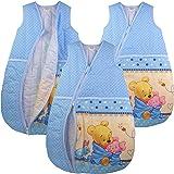 Baby Schlafsack Winnie Pooh Babyschlafsack Kinderschlafsack Vierjahreszeiten (68/74)