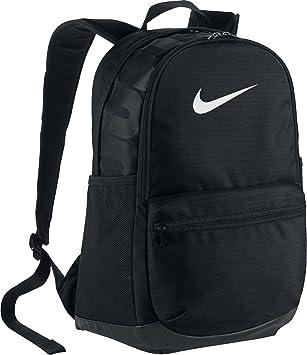 Nike Nk Brsla M Bkpk Mochila, Hombre, Negro Black/White, Talla Única: Amazon.es: Deportes y aire libre
