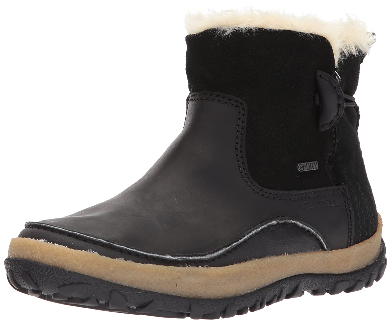 Merrell Women's Tremblant Pull on Polar Waterproof Snow Boot B01MRXWD7N 7 B(M) US|Black