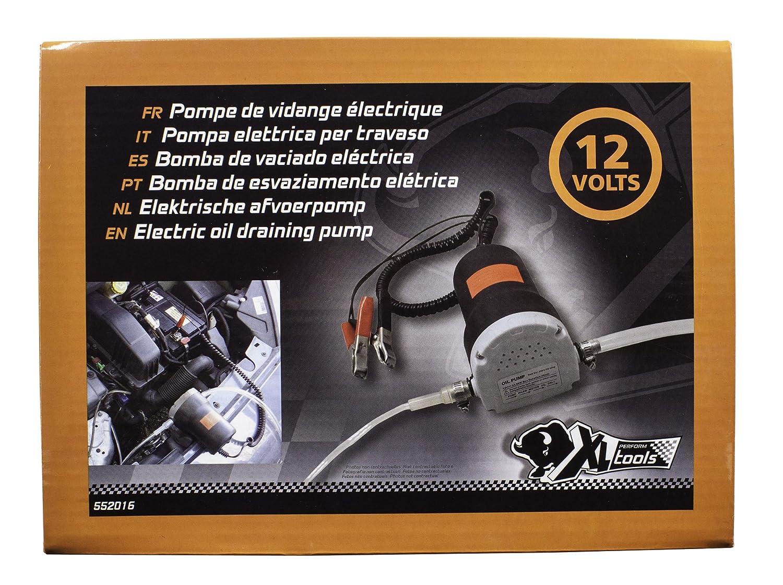 XL PERFORM TOOLS 552016 Elektrische /Ölabsaugpumpe