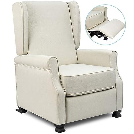 Amazon.com: Homall - Silla reclinable de tela moderna, sofá ...