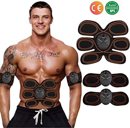 US SELLER SMART STIMULATOR ABDOMINAL MUSCLE TONER ULTIMATE BODY TRAINING TRAINER