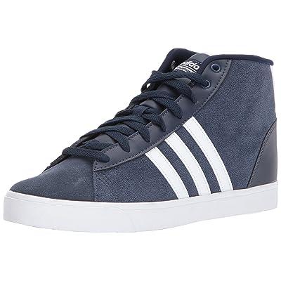 adidas NEO Women's CF Daily QT Mid W Sneaker, Collegiate Navy/White/Energy Aqua, 11 Medium US   Fashion Sneakers
