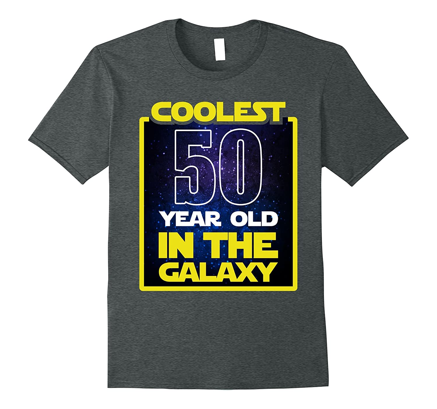 Coolest 50 Years Old In The Galaxy Funny 50th Birthday Shirt CD
